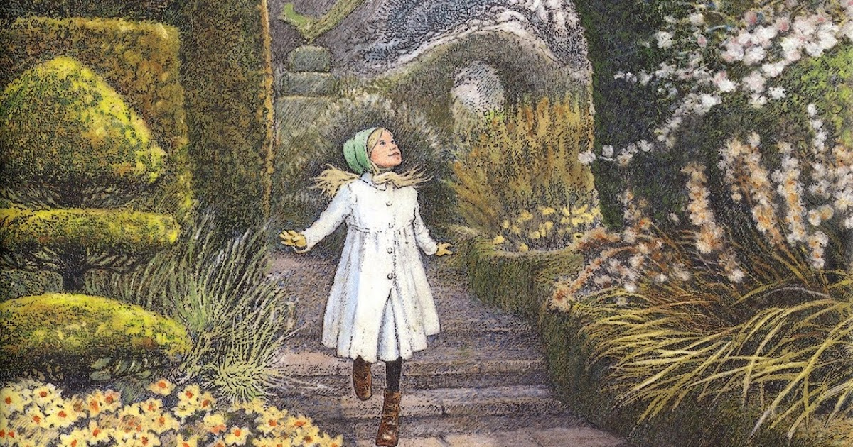 Reader in the Wilderness: The Secret Garden, Illustrated by Inga Moore