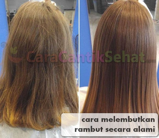 cara melembutkan rambut secara alami
