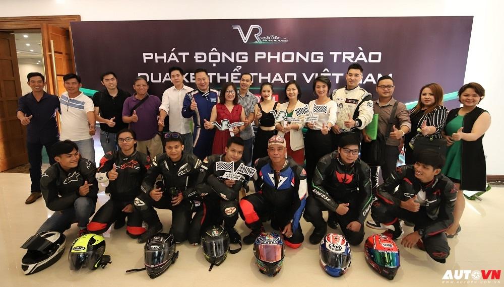 Vietnam Racing Academy phát động phong trào đua xe thể thao Việt Nam