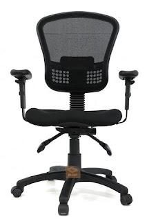 כסא משרדי שחור מדגם אופירה