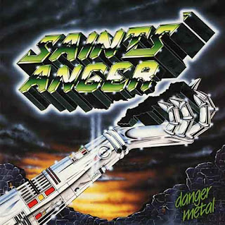 "Ο δίσκος των Saints' Anger ""Danger Metal"""