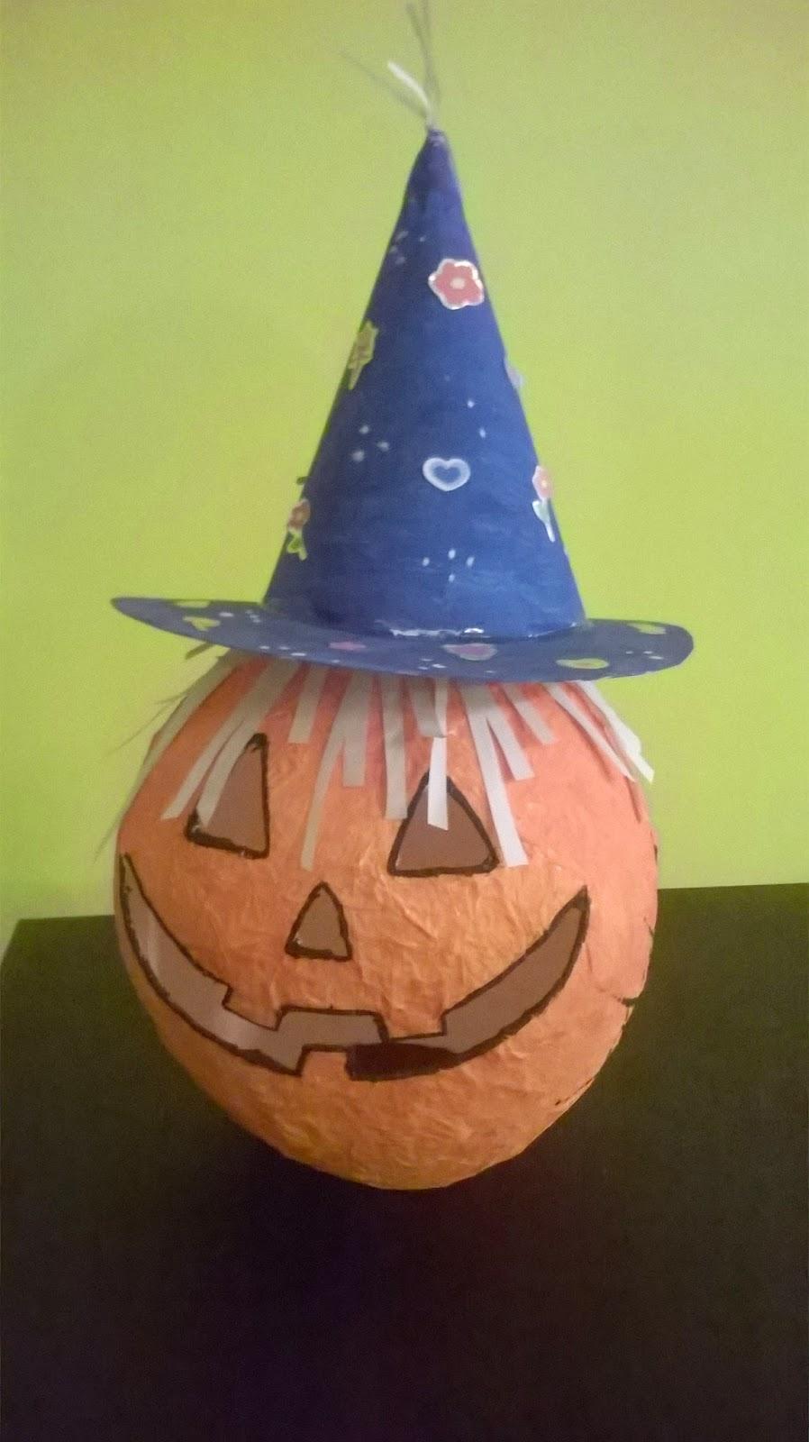 Zucca Halloween Cartapesta.Un Tuffo Nei Libri Angolo Creazioni Zucca Di Halloween In Cartapesta