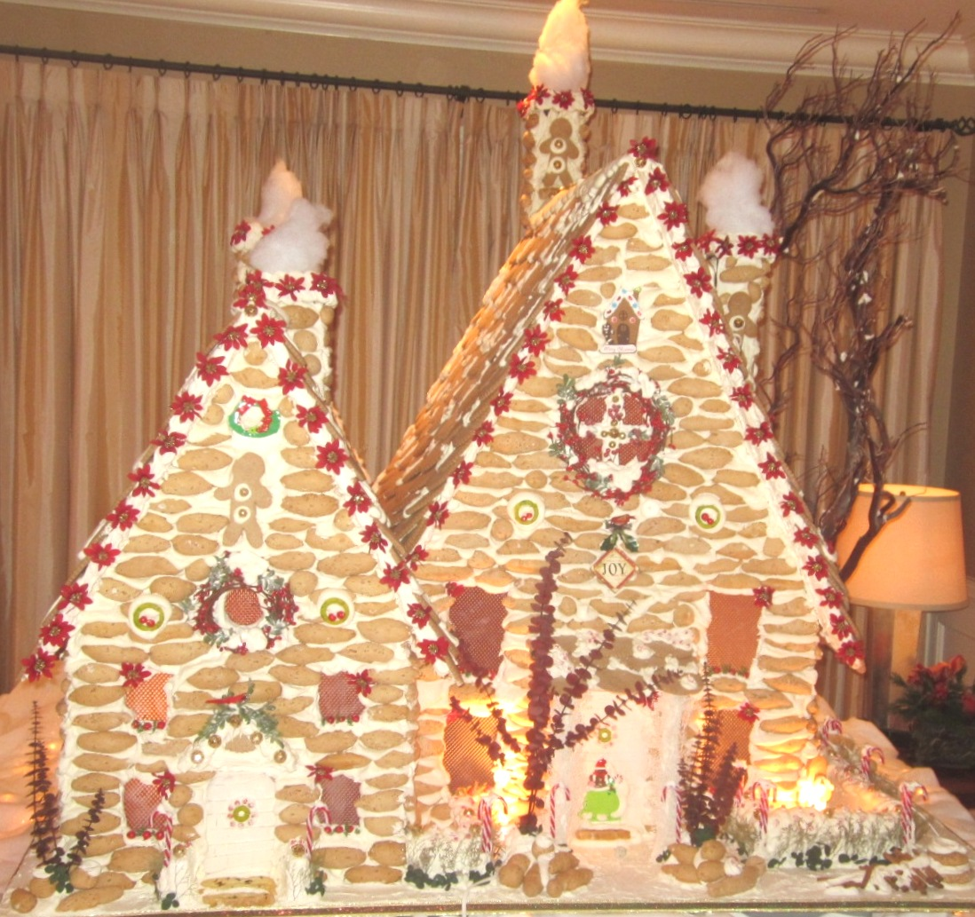 Ciao Newport Beach A Beautiful Gingerbread House