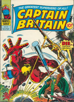 Marvel UK, Captain Britain #29, Lord Hawk