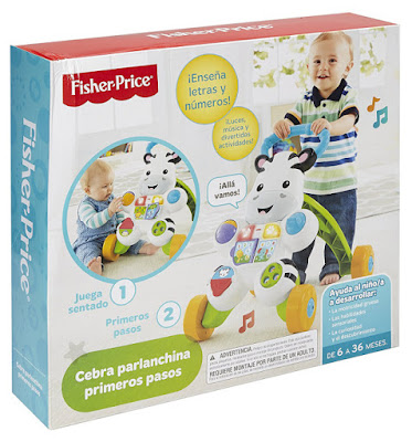 JUGUETES - FISHER-PRICE  Cebra Parlanchina primeros pasos Mattel | Edad: de 6 a 36 meses BEBE | Comprar en Amazon España