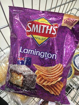 Smiths Lamington Chips Review