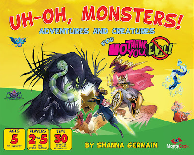 MK Review: Uh-Oh, Monsters!