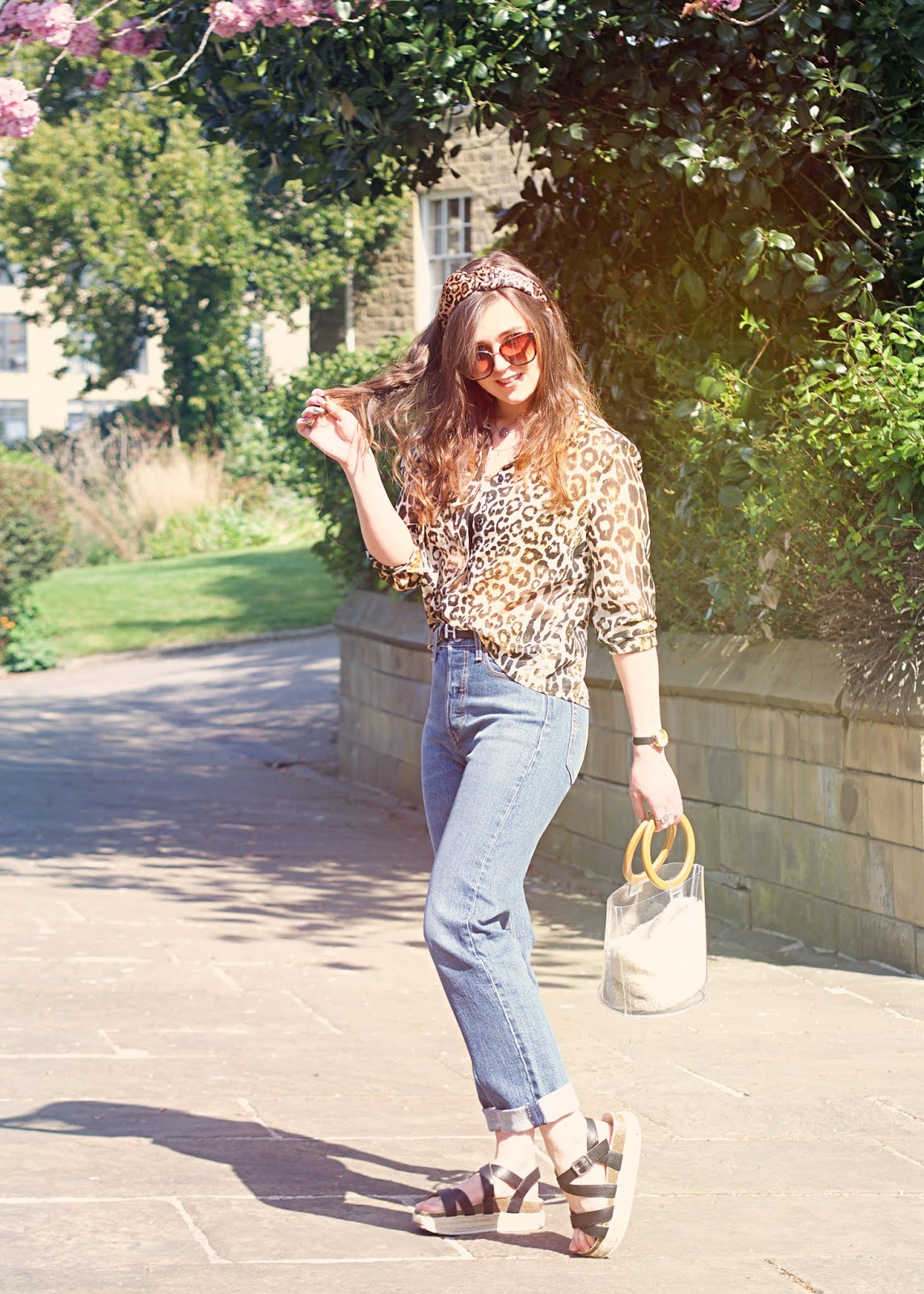styling leopard print