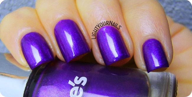 Claire's Metallic Purple