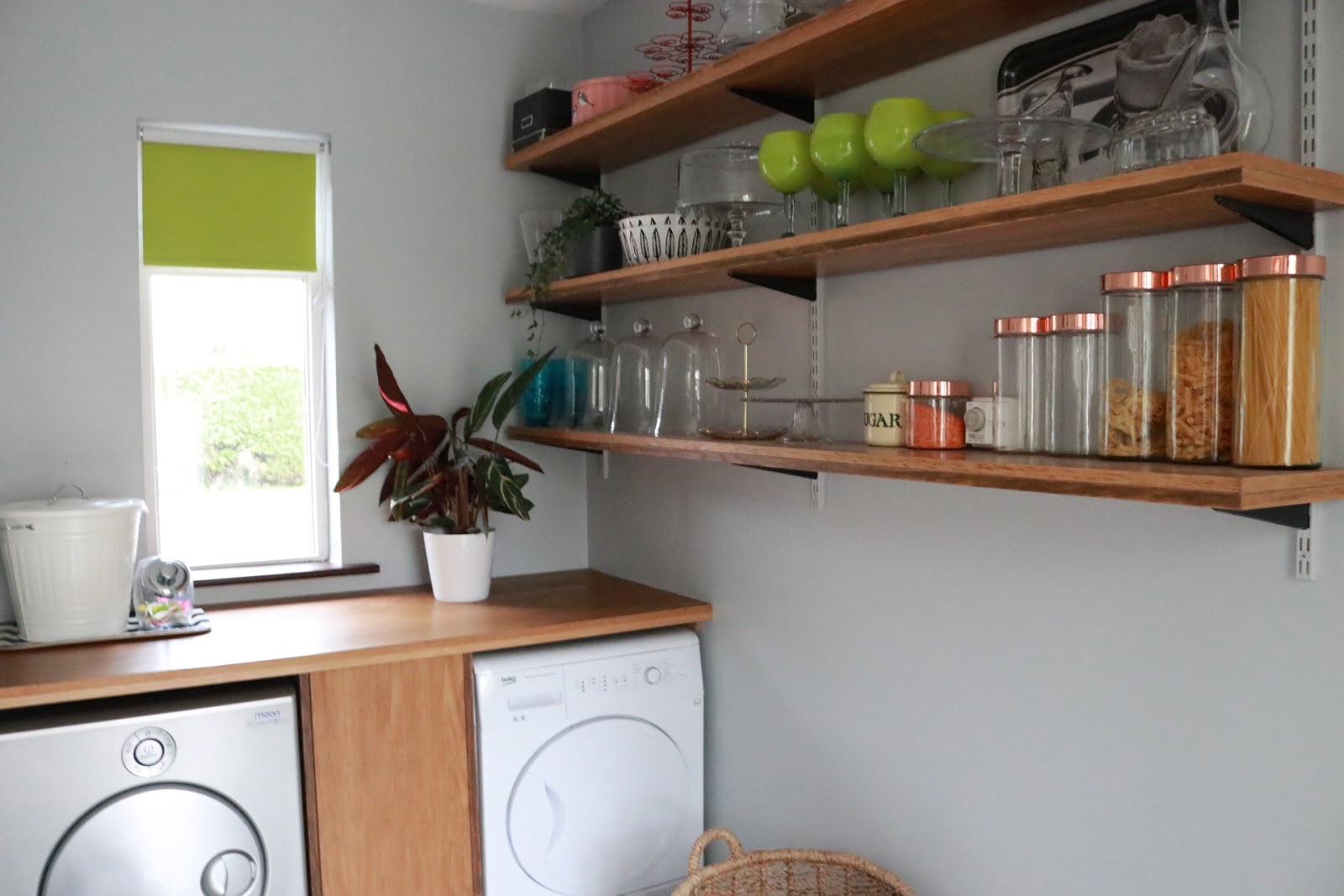 Laundry Room Love A Big Makeover On Small Budget