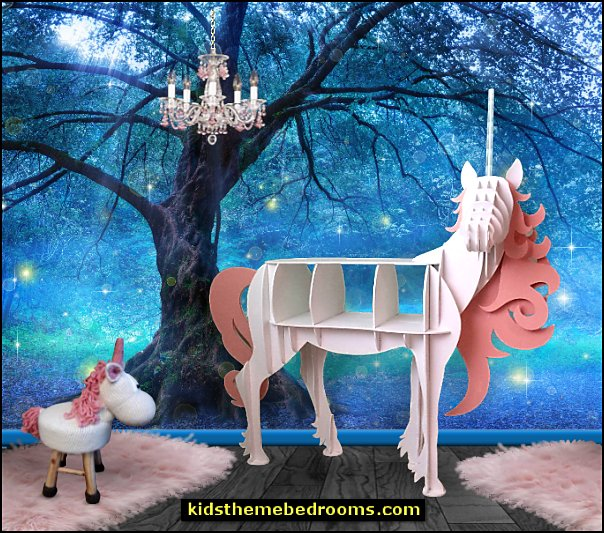 Unicorn stool   Unicorn bookshelf  unicorn bedding - unicorn decor - unicorn bedroom ideas - unicorn bedroom decor - Unicorn & Rainbows bedrooms - unicorn duvet - fantasy theme bedroom decorating ideas - fairytale bedrooms decor - unicorn wall murals - unicorn wall decals - unicorn baby bedrooms - unicorn baby girl bedroom - unicorn crib bedding - unicorn gifts - unicorns - pegasus decor -