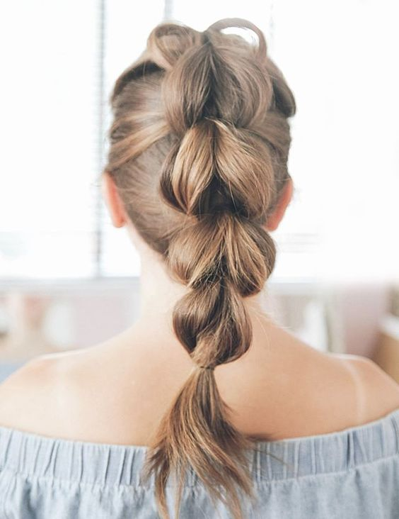 Easy Hairstyle for Summer