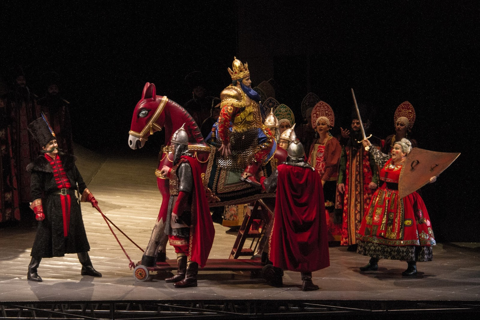 King Dodon. The Tale of the Golden Cockerel, Alexander Sergeevich Pushkin