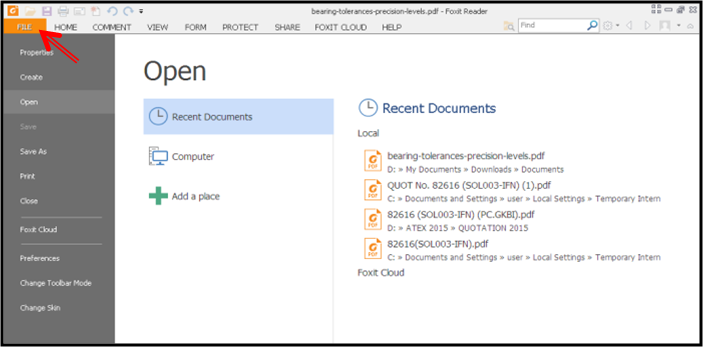 cara menggabungkan file pdf dengan foxit reader 9 dan 7