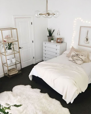 decor dorm room ideas minimalist white