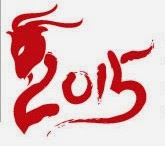 chinese year of the goat logo
