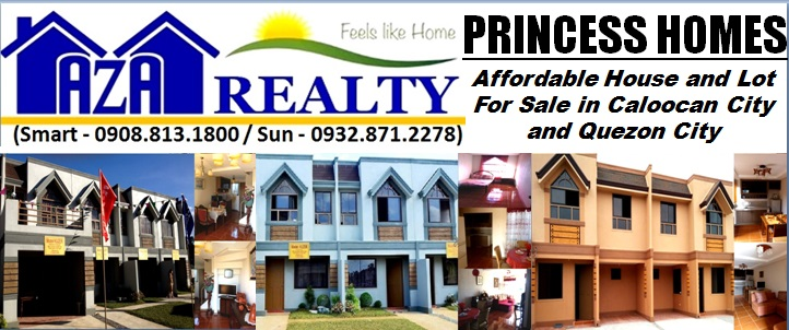Princess Homes Affordable House and Lot For Sale: Princess