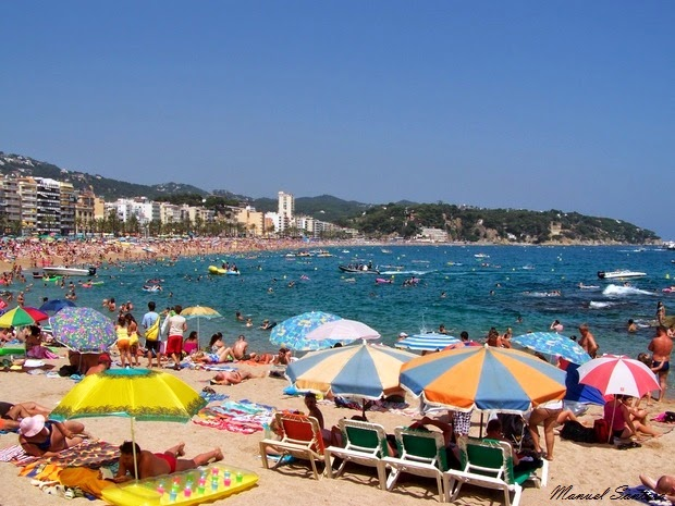 Lloret de Mar, spiaggia