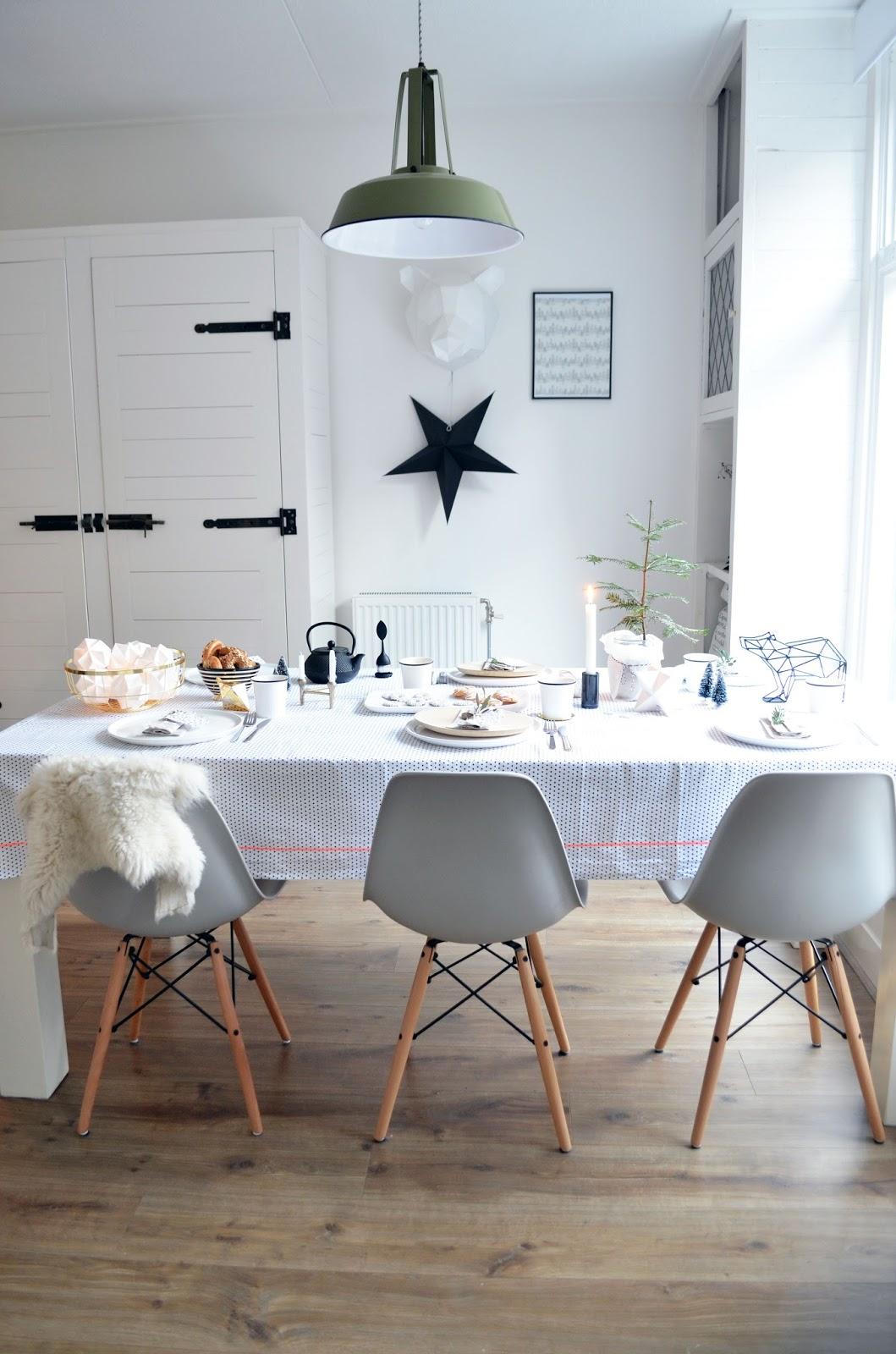 Scandinavische kersttafel styling anno 2014 for Eettafel scandinavisch