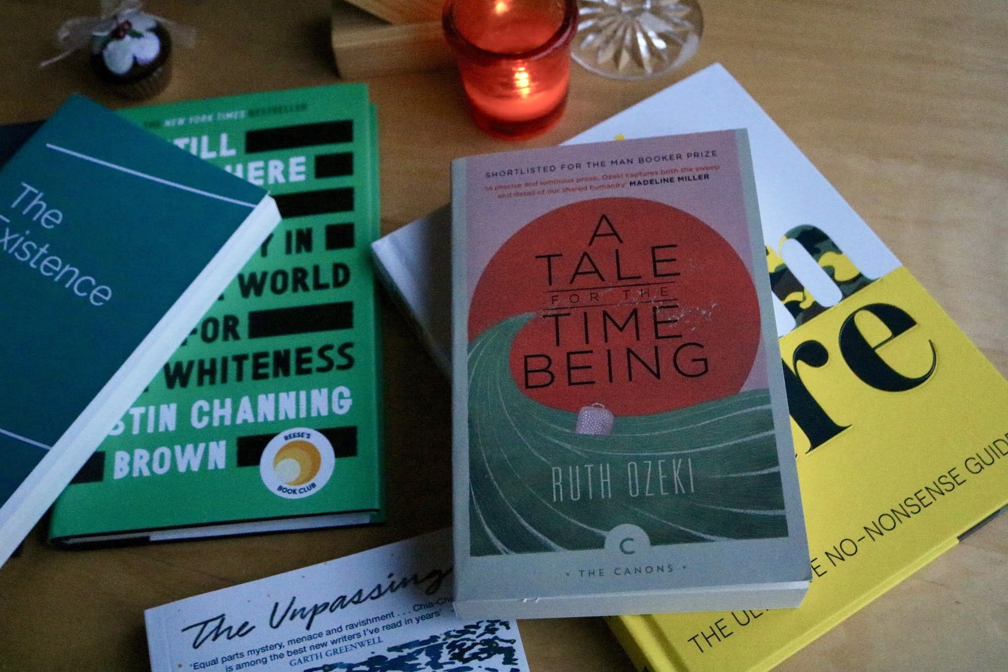 A TALE FOR THE TIME BEING BY RUTH OZEKI BOOK