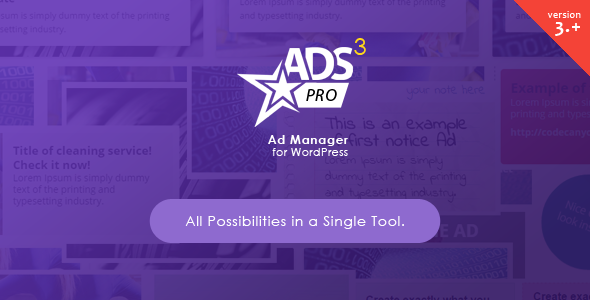 ADS PRO The Best WordPress Advertising Manager in 2016