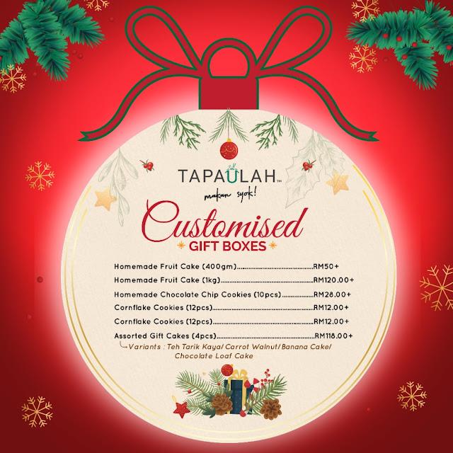 Tapaulah Festive Gift Box Price List