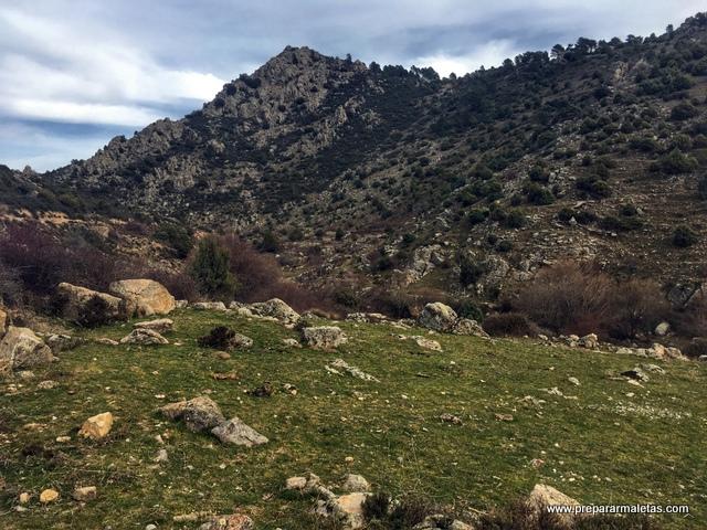 paisaje típico Sierra Guadarrama
