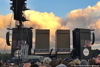 Kaleo, Vorband beim Rolling Stones Konzert in Hamburg