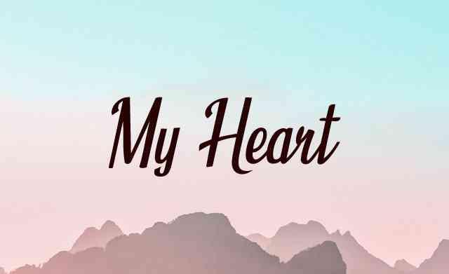 chord gitar My Heart Acha Septriasa
