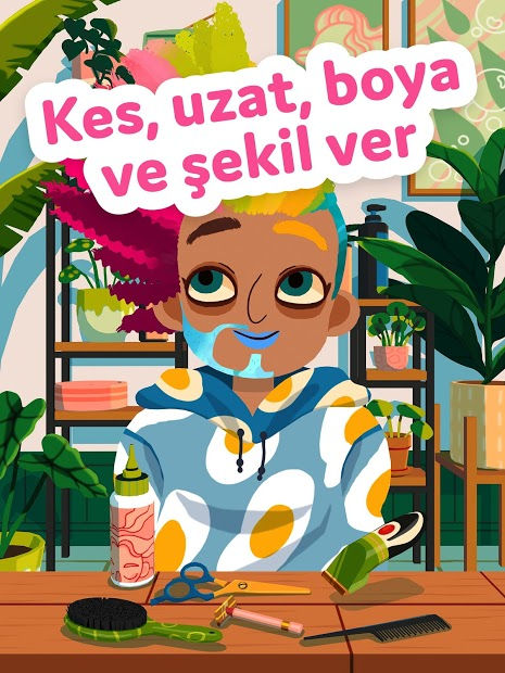 Toca Hair Salon 4 Hileli APK