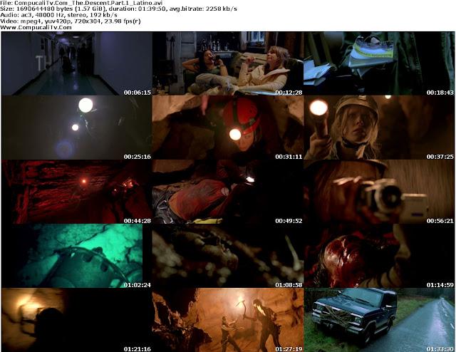 El Descenso [The Descent ] 1 (2005) y 2 (2009) HD 720p Latino Dual