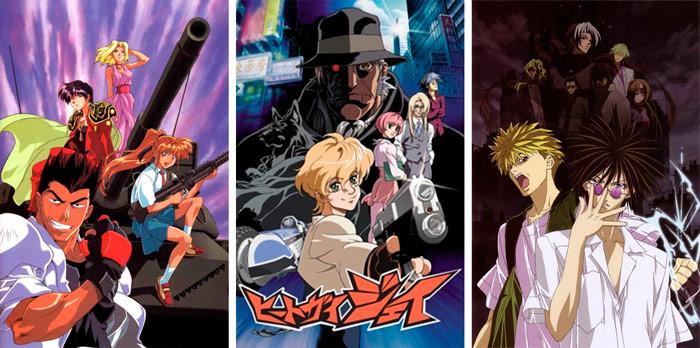 Columna - Las enseñanzas ocultas del anime - Those Who Hunt Elves - Heat Guy J - GetBackers