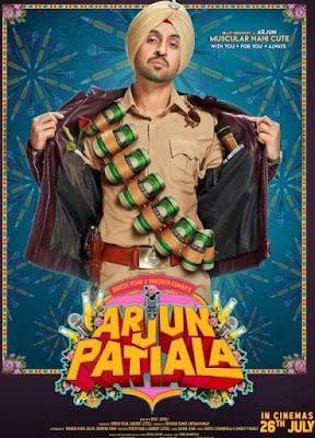 Arjun Patiala First Look, Poster