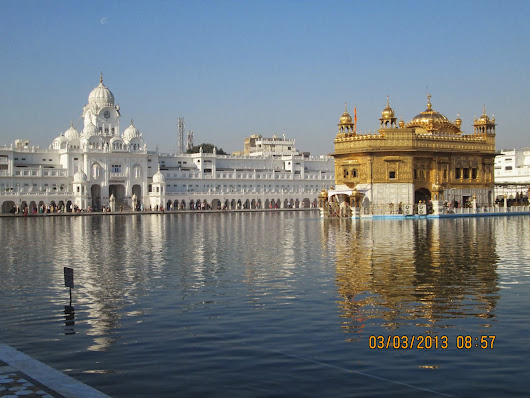 """SOLO WINTER BACKPACKER TOUR -2013"" of Amritsar."