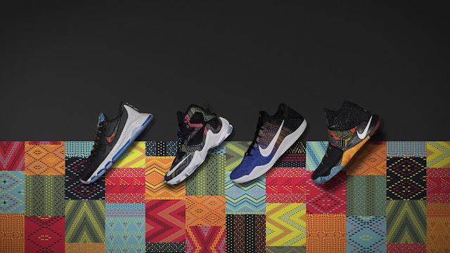 A coleção da Nike para o Mês da História Negra em 2016