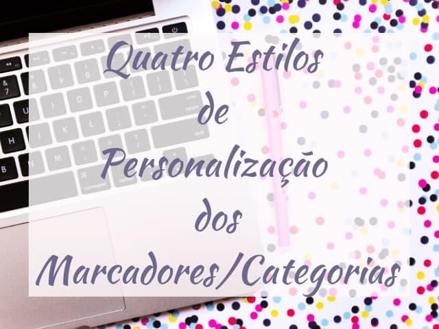 tutorial marcadores e categorias do blog personalizados