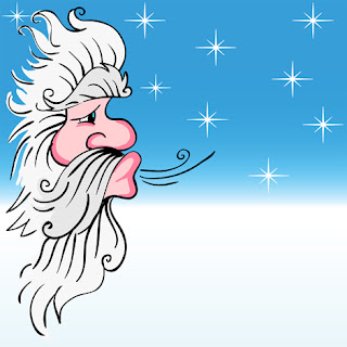 Clipart Image of Old Man Winter