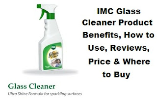 imc glass cleaner