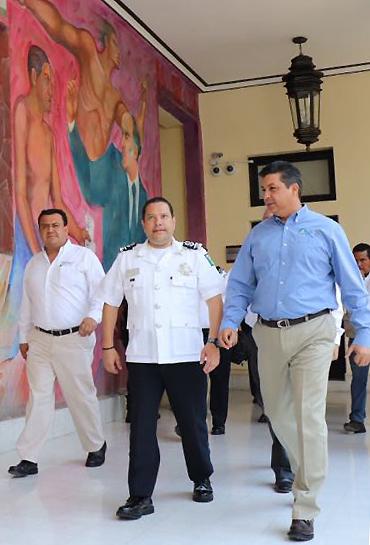 INSTRUYE SEGOB A POLICÍA FEDERAL,  FORTALECER ESTRATEGIA DE SEGURIDAD EN TAMAULIPAS