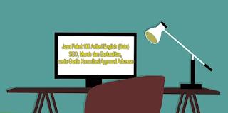 Jasa Paket 100 Artikel English (Bule) SEO, Murah dan Berkualitas, serta Gratis Konsultasi Approval Adsense