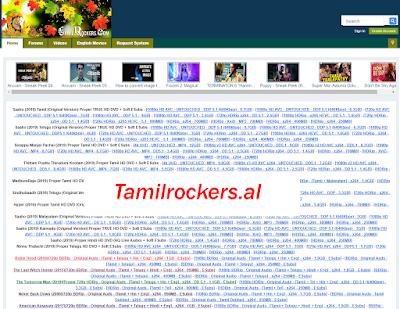 Tamilrockers.al Movie Download- 2020 Tamil HD Movies Download