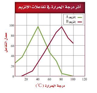 تفاعلات الأنزيم
