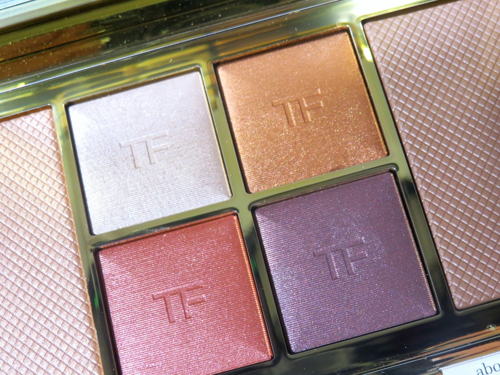 Tom Ford Shade and Illuminate Face & Eye Palette in Red Harness Review and Swatches