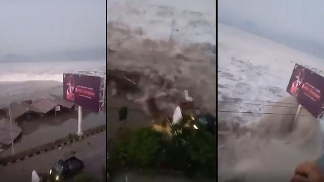 Tsunami Menerjang Palu Sulawesi Tengah Sulteng
