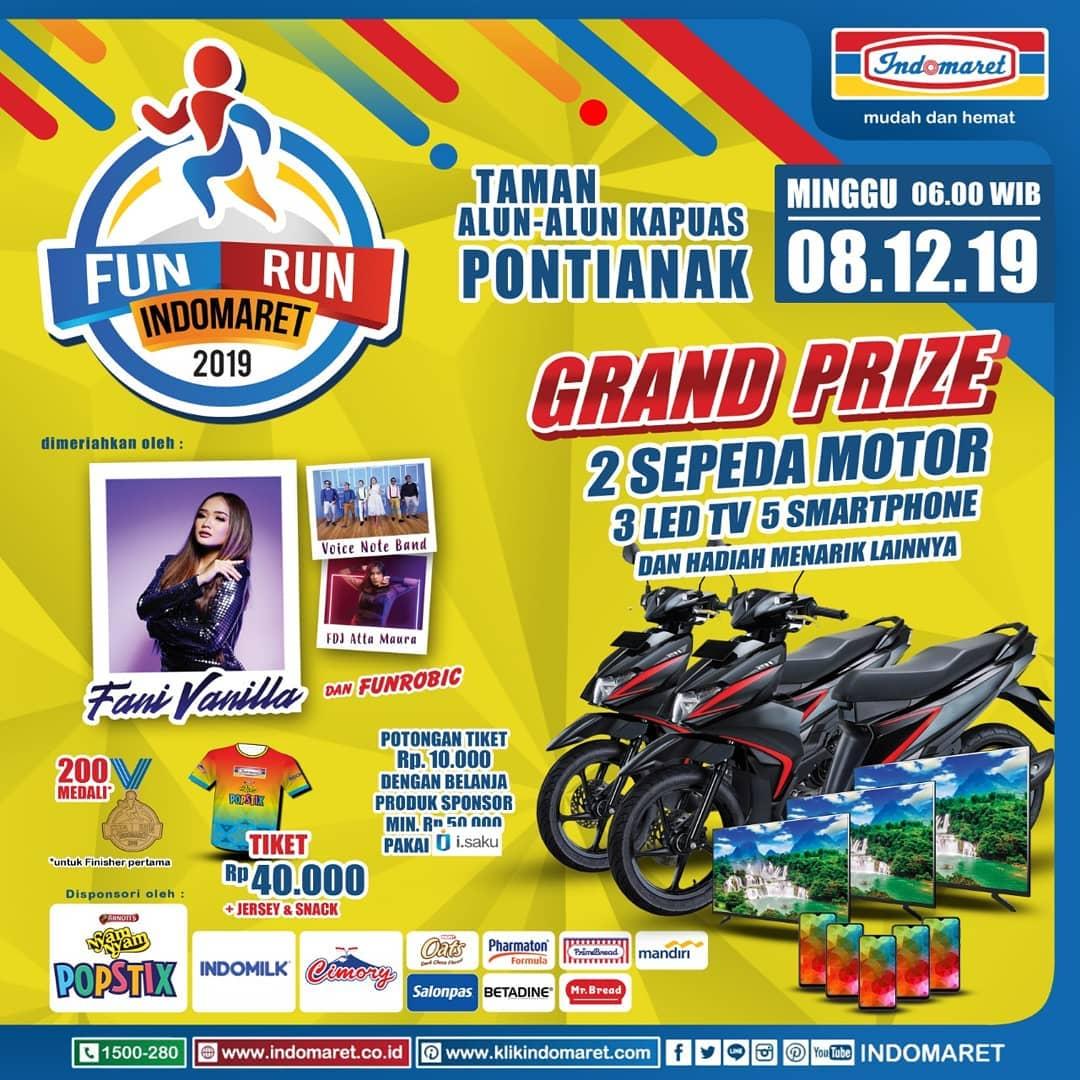 Fun Run Indomaret - Pontianak • 2019