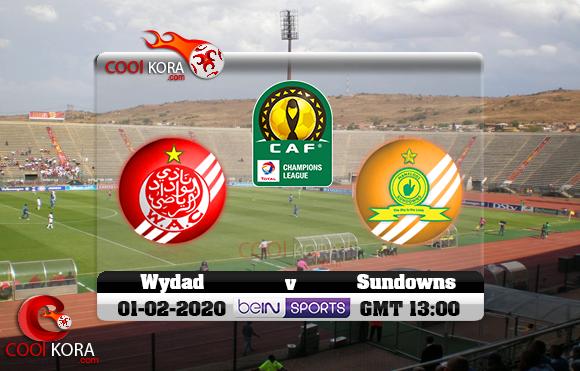 مشاهدة مباراة صن داونز والوداد اليوم 1-2-2020 دوري أبطال أفريقيا