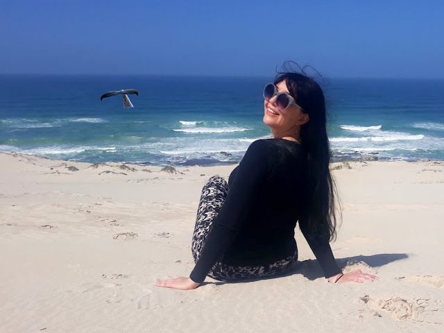 Whale watching at the De Hoop Nature Reserve
