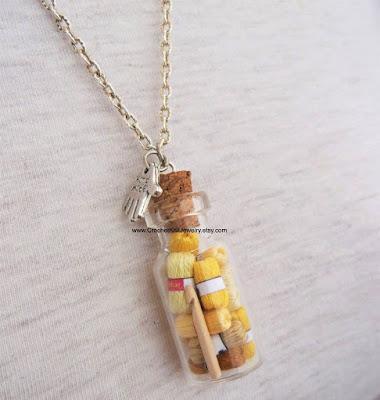 biżuteria dla dziewiarek