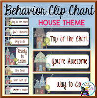 Behavior Clip Chart House Chalkboard Theme
