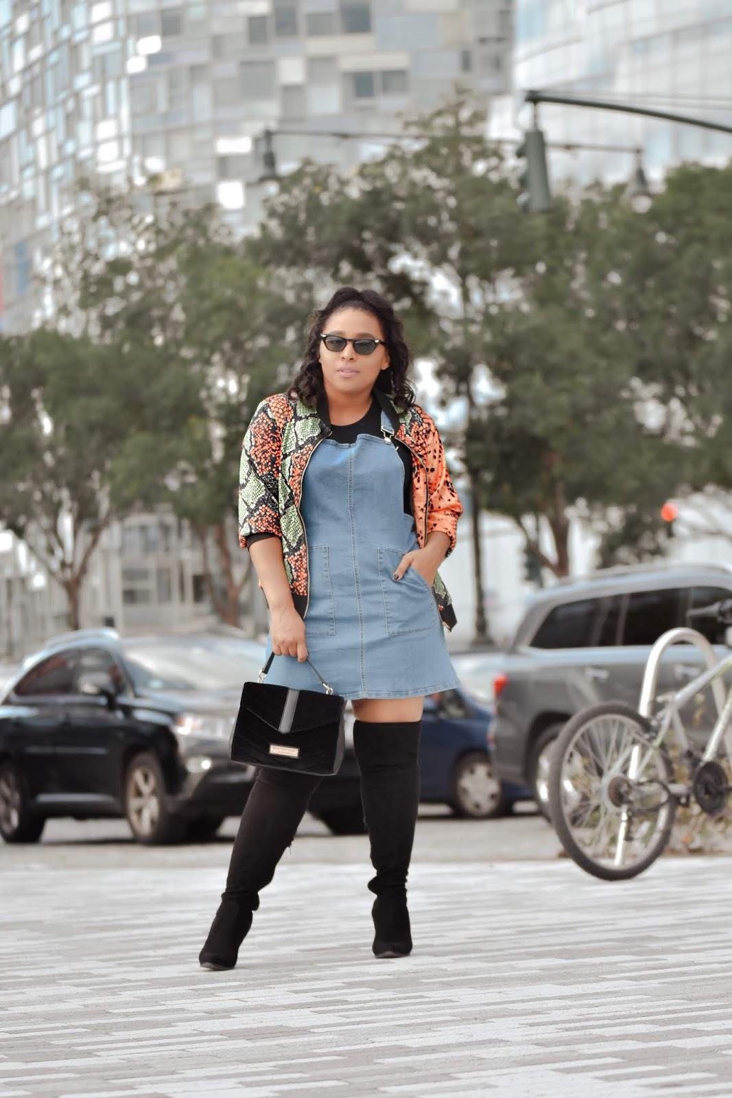 bomber jacket, animal print outfits, nyfw, nyfw 2019, ny streetstyle, mom bloggers, pattys kloset